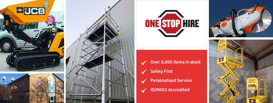 One Stop Hire - Equipment & Tool Hire