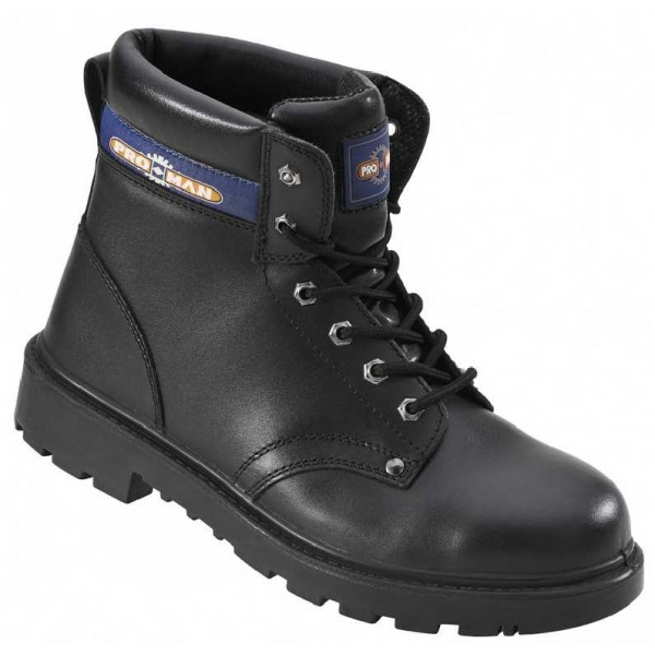 Black Safety Boot