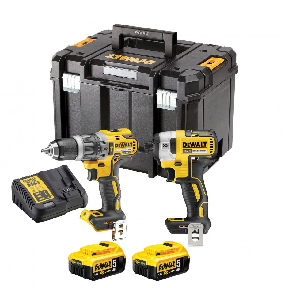 DEWALT DCK295P2T 18v Twin Pack with 2x5ah Batteries