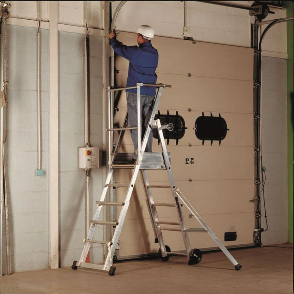 Sherpascopic Step Ladder | One Stop Hire