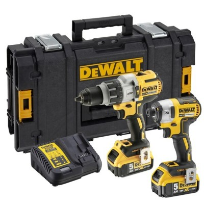 DEWALT DCK276P2 Brushless 18v Twin Pack c/w 2 x 5ah batteries