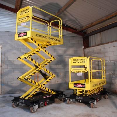 Battery Operated 3.1M Push Around Scissor Lift