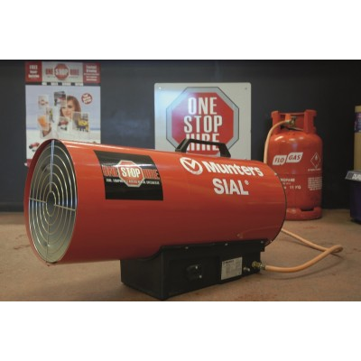 Propane Forced Air Heater