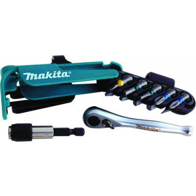 Makita 12 Piece Screwdriver & Ratchet Set