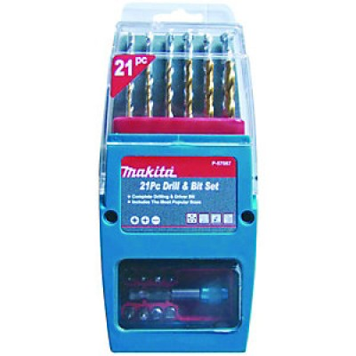 Makita 21 Piece Bit Set