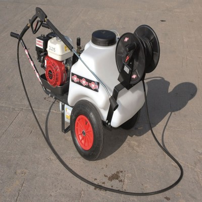 2200 PSI Petrol Mini Pressure Washer Bowser