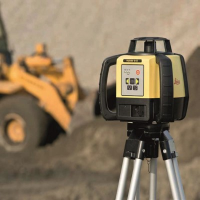 Rotating Laser Level C/W Tripod & Staff