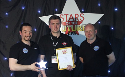 Congratulations to Matt Biggins - CITB Star of the Future