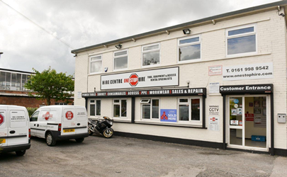 One Stop Hire – New Depot South Manchester