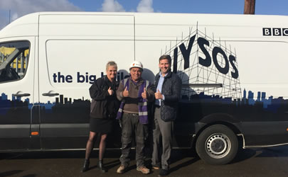 One Stop Hire go above and beyond for BBC's DIY SOS