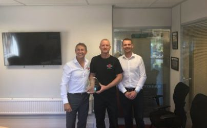 Paul Biggins hits 30 years of service