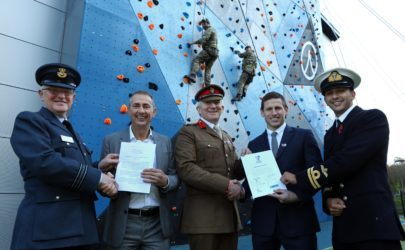 One Stop Hire Ltd is proud to have signed up to the Military Covenant""