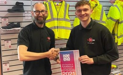 HAE Hire Desk Apprentice of the Year awards
