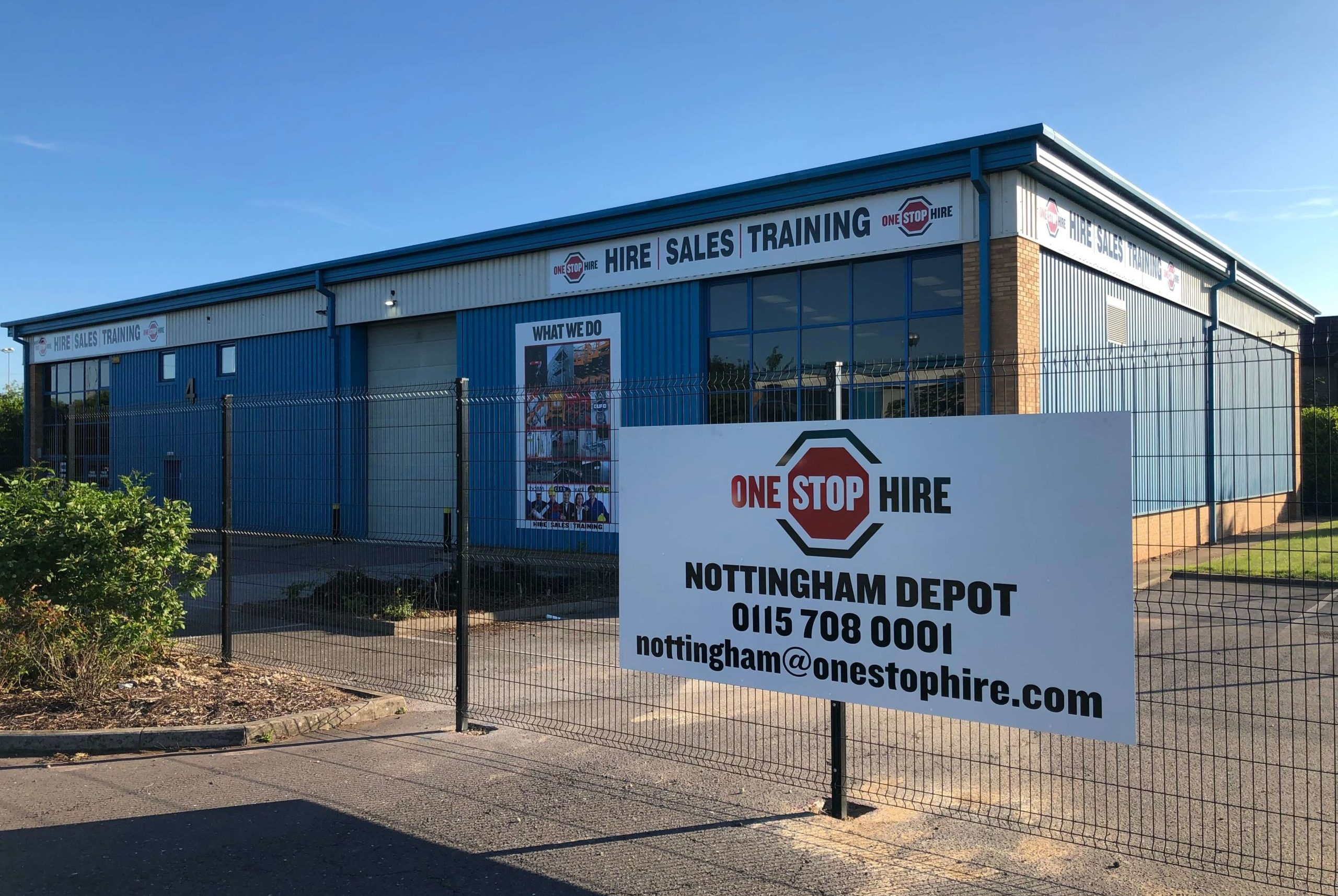NEW Depot now open in Nottingham covering the East Midlands area including Derby, Leicester & Burton